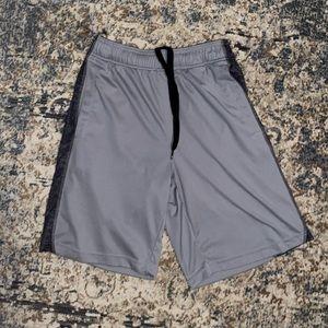 Adidas Side Stripe Gray Basketball Gym Shorts